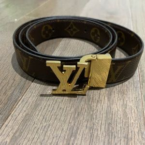 LOUIS VUITTON Belt with Initials